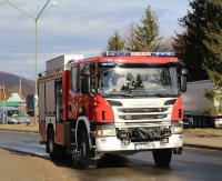 KRONIKA STRAŻACKA: Płonący samochód, lądowanie śmigłowca LPR w Nadolanach i pożar budynków gospodarczych