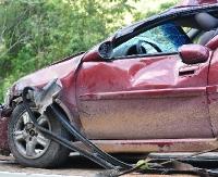LESKO24.PL: Zderzenie dwóch pojazdów. Trzy osoby trafiły do szpitala