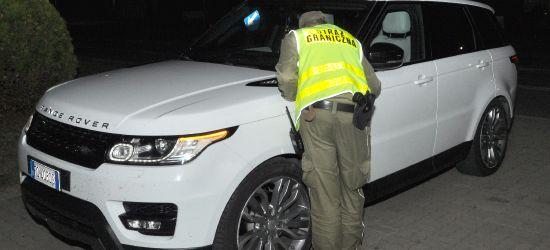 GRANICA: Zatrzymano kradziony samochód warty 400 tysięcy złotych
