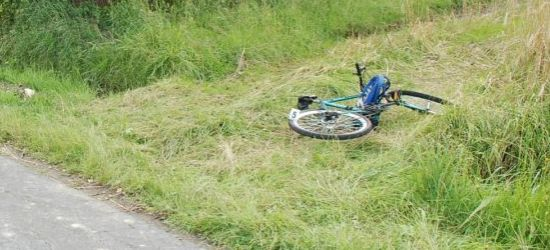 AKTUALIZACJA: Potrącenie 12-letniego rowerzysty w Dydni (ZDJĘCIE)