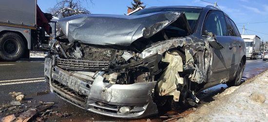 SANOK: Wypadek na Lipińskiego! (VIDEO, FOTO)