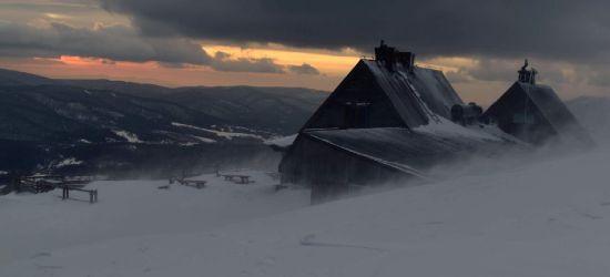 Połonina Wetlińska w zimowej szacie (ZDJĘCIA)