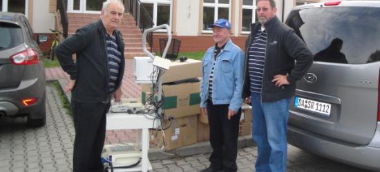 Nowe narzędzia i sprzęty od niemieckich gości dla sanockiego szpitala (ZDJĘCIA)