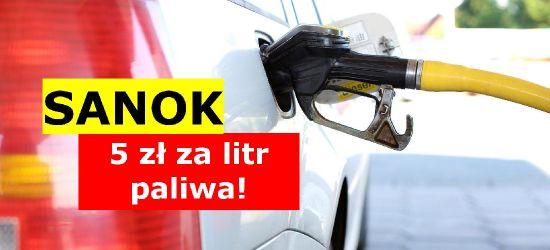 W Sanoku paliwo już ponad 5 zł! Dlaczego tak drogo?
