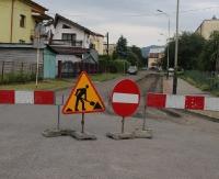 SANOK: Remont przy ul. Heweliusza na Wójtostwie. Droga częściowo zamknięta (ZDJĘCIA)