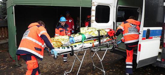 Ładunek wybuchowy i ewakuacja mieszkańców. Ćwiczenia obronne w Humniskach (ZDJĘCIA)
