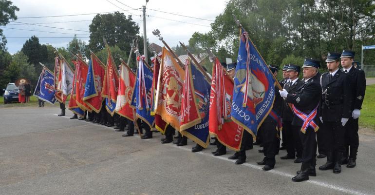 Ochotnicy z Nowosielec na 100-lecie (FOTO, VIDEO)