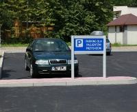 Nowy parking dla pacjentów SPZPOZ w Zagórzu (ZDJĘCIA)