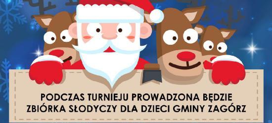 ZAGÓRZ / NASZ PATRONAT: Turniej Halowej Piłki Nożnej o Puchar Świętego Mikołaja
