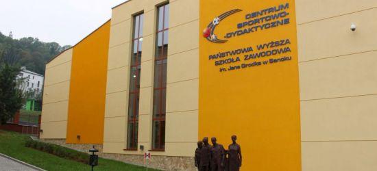 Otwarcie Powszechnego Punktu Szczepień w hali Uczelni Państwowej w Sanoku