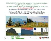 """PTTK: """"Na zakazanych szlakach"""". Wędrówka granicą ukrainsko-rumuńską"""