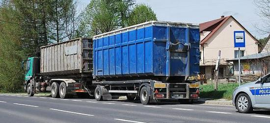 Ciężarówką na podwójnym gazie