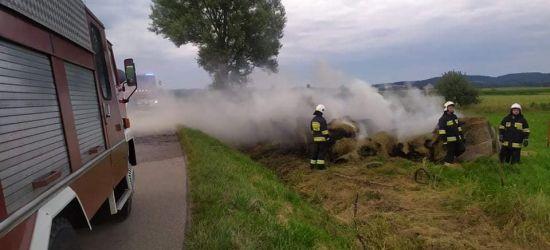 ZARSZYN. Pożary balotów siana. Akcje strażaków (ZDJĘCIA)