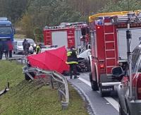 Wnioski po tragicznym wypadku na Górze Niebyleckiej. Słupki, fotoradar i miejsce na kontrole policji (ZDJĘCIA)