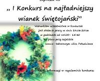 GMINA BESKO: Konkurs na najładniejszy wianek świętojański