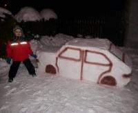 """CZYTELNICY PISZĄ: Był śnieżny czołg, jest też kultowy """"Maluch""""! (ZDJĘCIE)"""