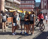 Laureaci konkursu z języka niemieckiego w nagrodę odwiedzili Reinheim (ZDJĘCIA)