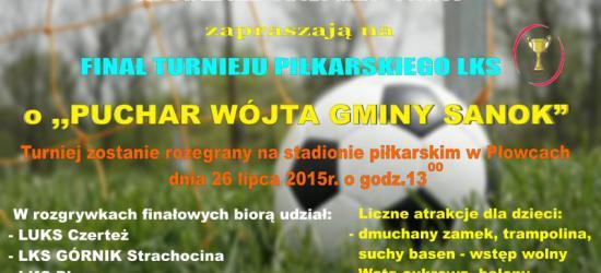 Zawalczą o Puchar Wójta Gminy Sanok