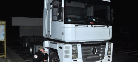 Na granicy zatrzymano ciężarówkę za 120 tys. zł skradzioną 5 lat temu