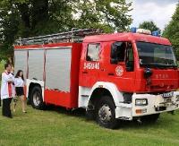 Pojazd dla strażaków z OSP w Tyrawie Wołoskiej oficjalnie przekazany. Miejscowa OSP ze 136 letnią tradycją (FILM, ZDJĘCIA)