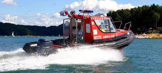 Niebezpiecznie nad wodą. Kobieta wypadła z kajaka (ZDJĘCIA)
