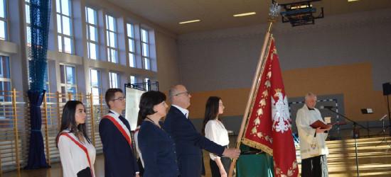 I LO w Sanoku ma nowy sztandar (FOTO)