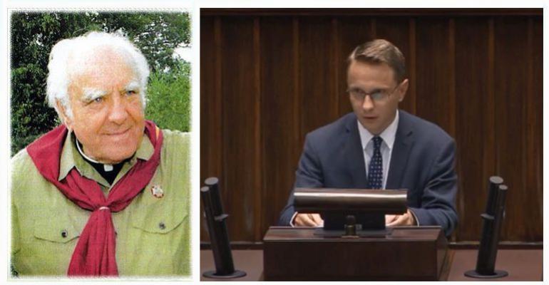 Sejm uczcił pamieć księdza Peszkowskiego w setną rocznicę urodzin(VIDEO)