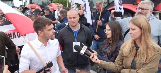 POLSKA PROTESTY ROLNIKÓW: Kołodziejczakowi puściły nerwy po pytaniu dziennikarki TVP (zobacz VIDEO)