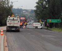 ZAGORZ24.PL: Uwaga kierowcy! Korki z Zagórza do Sanoka (ZDJĘCIA)