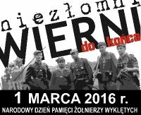 1 marca: Narodowy Dzień Pamięci Żołnierzy Wyklętych. Niezłomni, wierni do końca