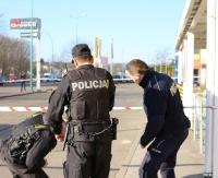 ALARM BOMBOWY W SANOKU: Policja szuka nadawcy wiadomości. Żartowniś może za to słono zapłacić (FILM, ZDJĘCIA)