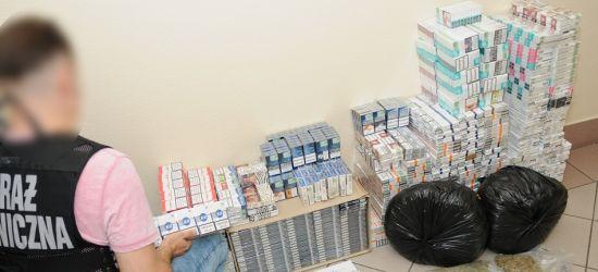 PODKARPACIE: 2,5 tysiąca paczek papierosów, pół kilograma marihuany. Dilerka zatrzymana (FOTO)
