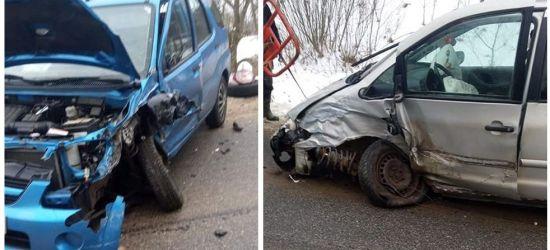 Groźny wypadek. Jedna osoba ranna (ZDJĘCIA)