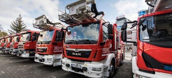 Sanok ma nowy wóz strażacki! (ZDJĘCIA)
