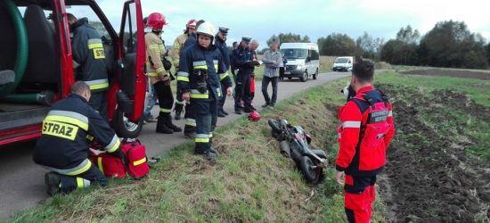 Kolejny wypadek. Kobieta z urazami głowy trafiła do szpitala (ZDJĘCIA)