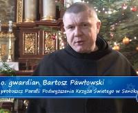 Życzenia bożonarodzenioweo. gwardiana Bartosza Pawłowskiego (FILM)