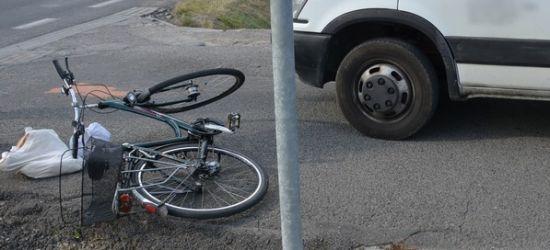 Potrącenie rowerzystki w Iwoniczu (ZDJĘCIE)
