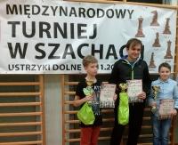 Młody sanoczanin na podium Międzynarodowego Turnieju Szachowego (ZDJĘCIA)