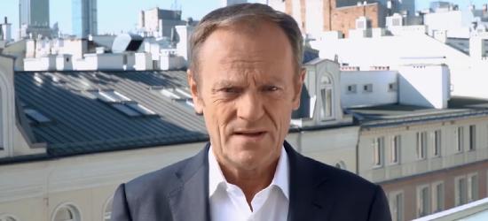 Tusk wzywa do protestów (VIDEO)