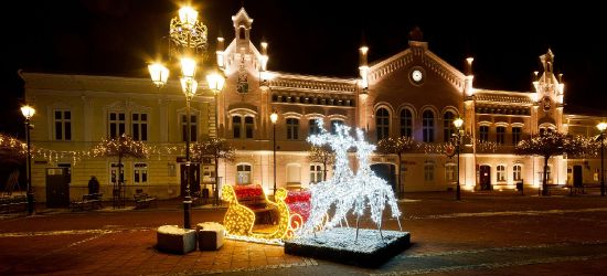 Piękny sanocki Rynek nocą! Zobaczcie wyjątkowe zdjęcia (FOTO)