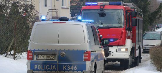 REGION: Pożar. Policjanci uratowali cztery osoby!