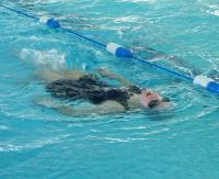 Wychowankowie SOSW rywalizowali w wojewódzkich mistrzostwach w pływaniu (ZDJĘCIA)