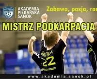 Młodzi zawodnicy Akademii Piłkarskiej Sanok mistrzami województwa!