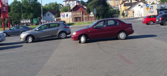 PARKOWANIE PO SANOCKU: Duży parking to wyzwanie (ZDJĘCIA)