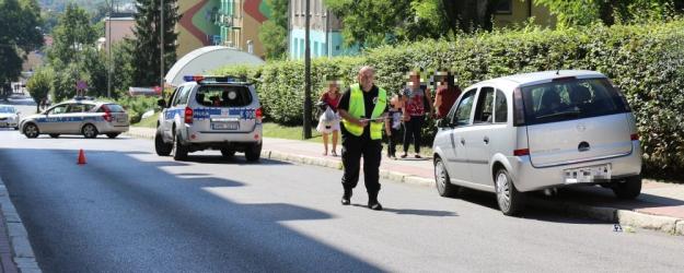 AKTUALIZACJA SANOK: Potrącenie na pasach. Dziewczynka trafiła do szpitala (ZDJĘCIA)