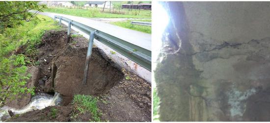 """ŚREDNIE WIELKIE: Uszkodzony przepust na drodze powiatowej w Średniem Wielkiem. """"To absurd, że nie naprawiono go przez 3 lata!"""" (ZDJĘCIA)"""