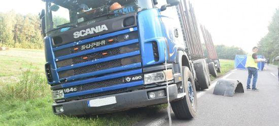 Nie żyje 50-letnia piesza potrącona przez ciężarówkę (FOTO)