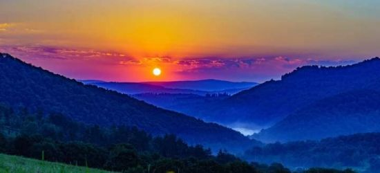 Piękny poranek w Bieszczadach! (FOTO)