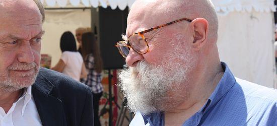 Jerzy Bralczyk w Sanoku w ramach Bieszczadzkiego lata z książką