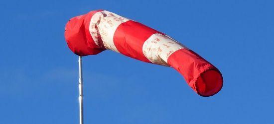 Silny wiatr. Ostrzeżenie 2 stopnia